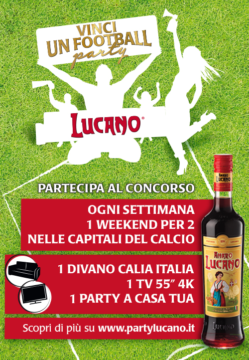 concorso Vinci un Football Party